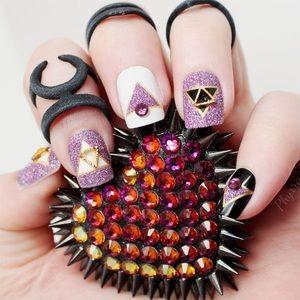 Static Nails - Galaxy